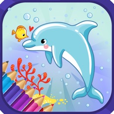 Activities of Fish Coloring  Pages for kids
