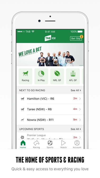 TAB – Racing and Sports Betting