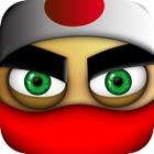 忍者の衝突ラン2:最高の楽しいスマッシュ忍者ゴースターフリックヒットレースゲーム icon