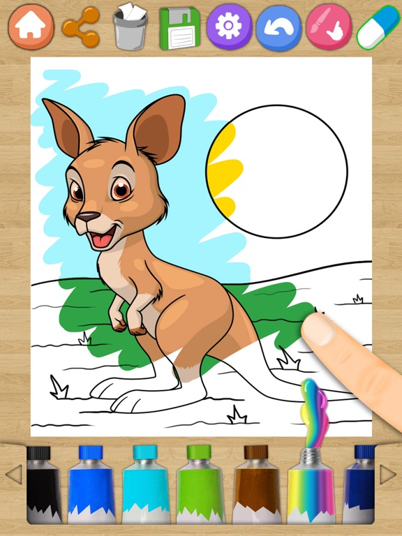 Animals Magic Coloring Pages Kids Coloring Book App Price Drops