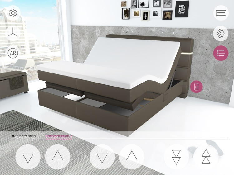 FEY boxspring configurator screenshot-1