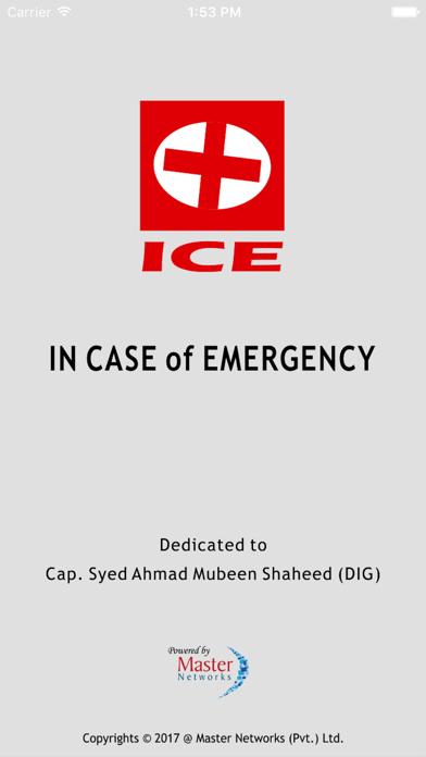 ICE (In Case Of Emergency) Pakistan