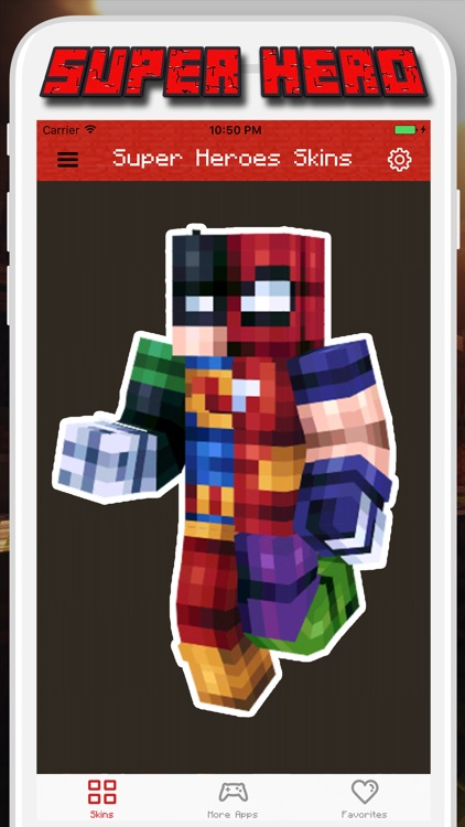 Super Hero Skins for Minecraft PE - Pocket Edition screenshot-0