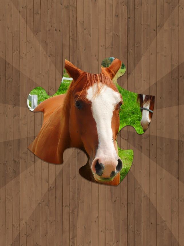Ngựa Ghép Hình Jigsaw