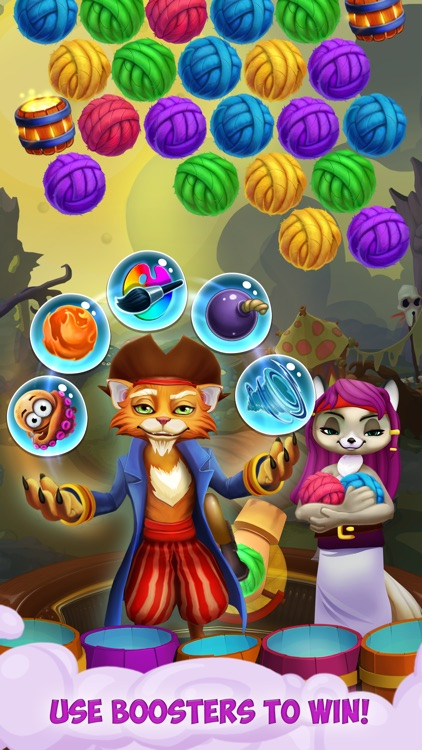 Kitty Pop Pirates screenshot-3