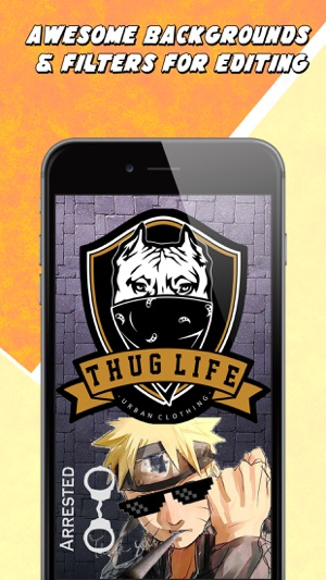 Thug life photo maker create thuglife images on the app store voltagebd Images