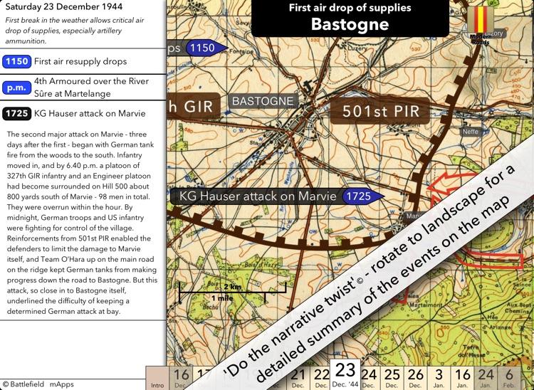Battlefield mApps: Battle of the Bulge screenshot-3