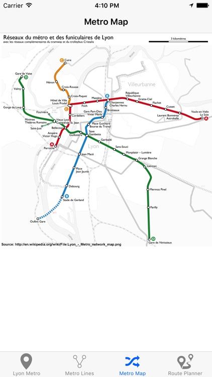 Lyon Metro screenshot-4