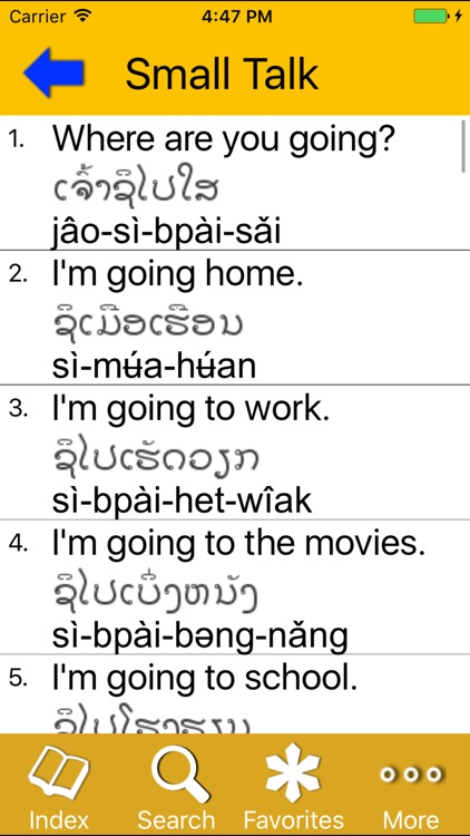 Survival Lao for English Speakers screenshot-3