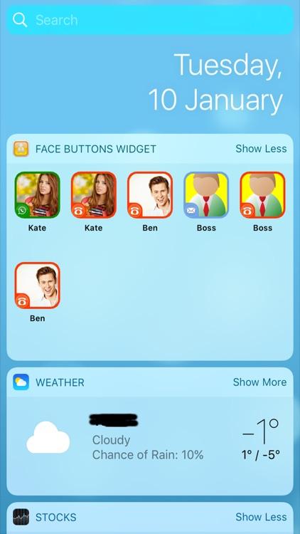 Face Buttons!