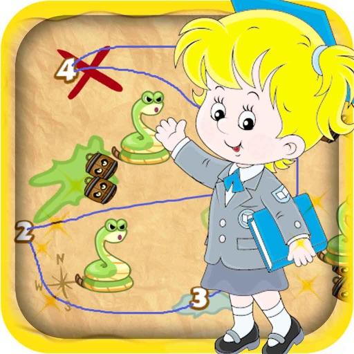 Connect The Number Kids: Kindergarten Math iOS App