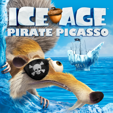Activities of Ice Age: Pirate Picasso