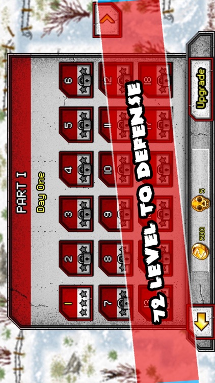 Zombie Tower Defence Shooting : Winter is Coming screenshot-3