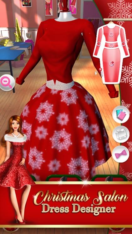 Christmas Salon Dress Designer: Fashion Dress Up