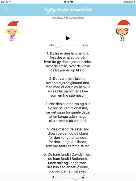 Danske Julesange - musik og tekster til juleaften | App Price Drops