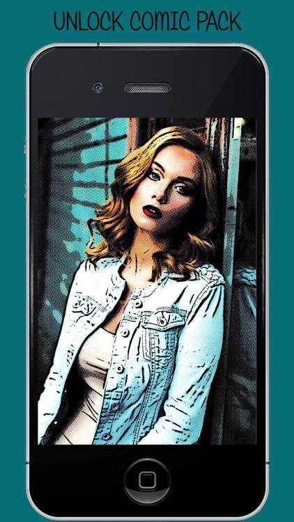 Comic Photo Effects - Comic Book Photo Filters screenshot-3