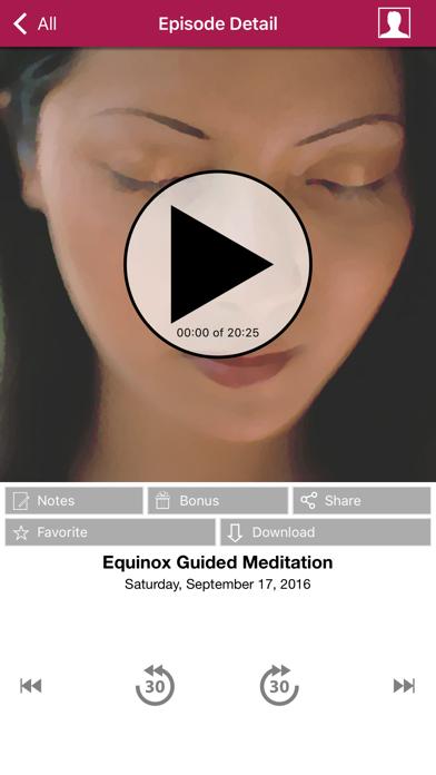 Meditation Oasis App review screenshots