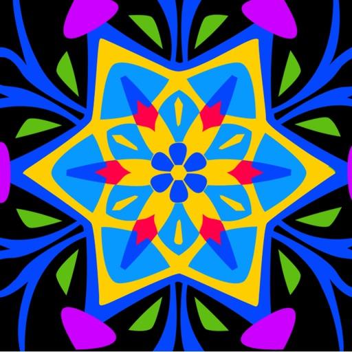 KaleidoDraw — a kaleidoscope drawing pad