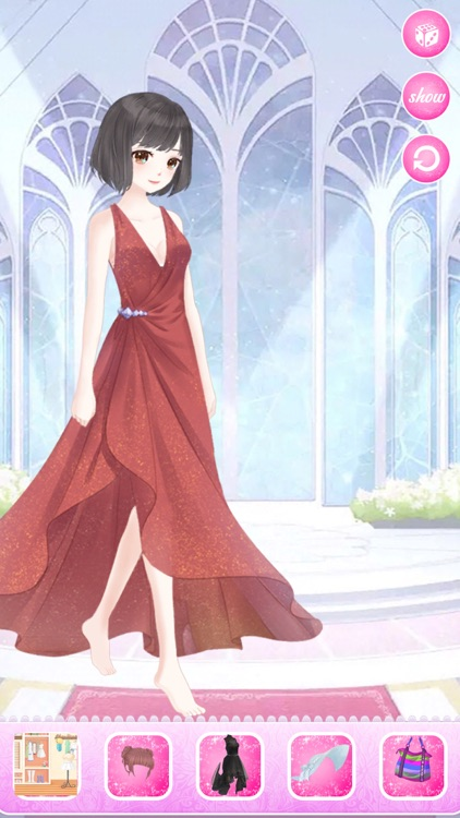 Snow princess fashion dress - Costume Dress Up screenshot-4