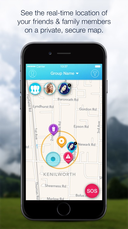 Group Connect friends & family locator