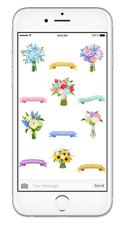 Send Flowers & Messages Sticker Pack screenshot-3