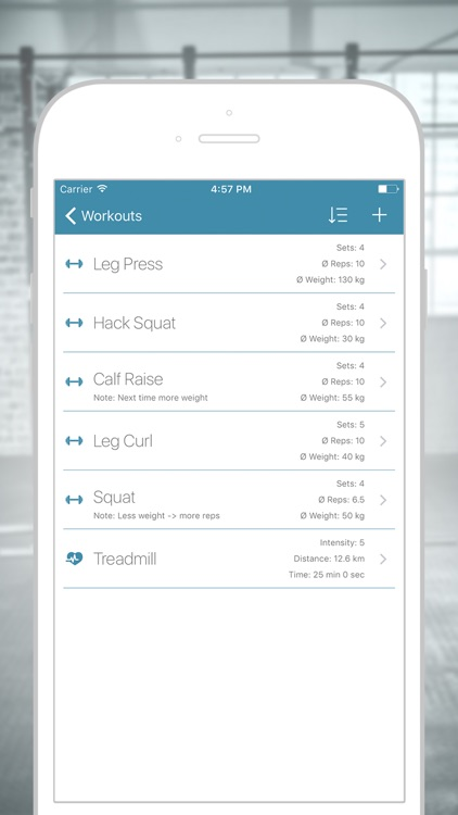 GymLog - Simple Workout Fitness Tracker