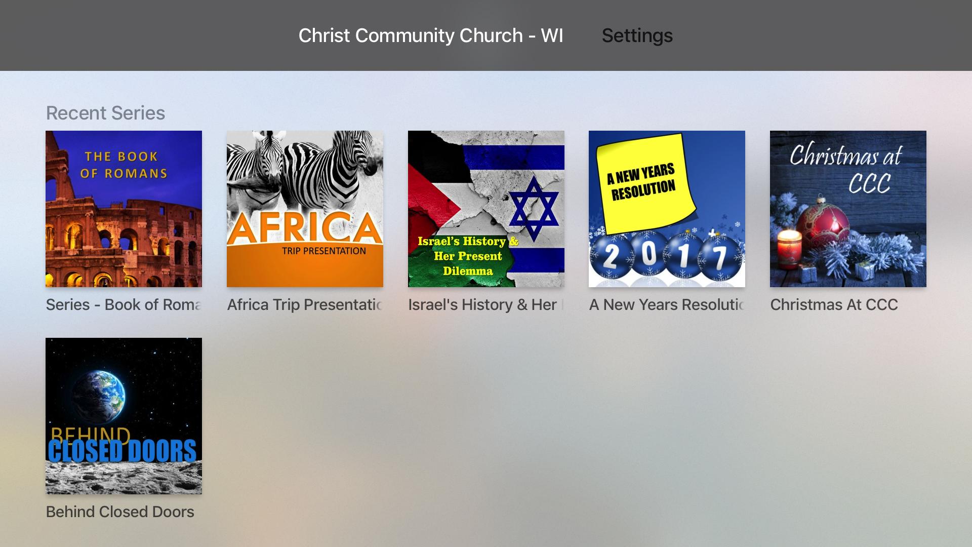 Christ Community Church - WI screenshot 7