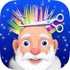 Père Hair Style - Raser Beard & Barbershop Jeux icon