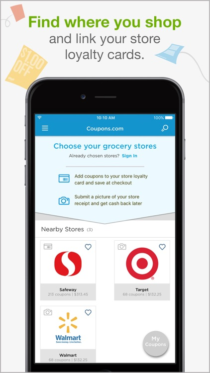 Coupons.com – Grocery Coupons & Cash Back Savings