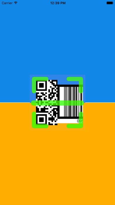 Free QR Code reader & Barcode screenshot one