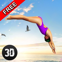 Swimming Pool Cliff Flip Diving Simulator 3D