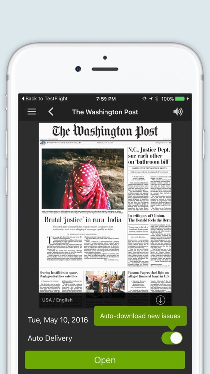 The Washington Post Newspaper in Education