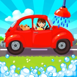 A Free Car Wash Game for Kids and Toddlers