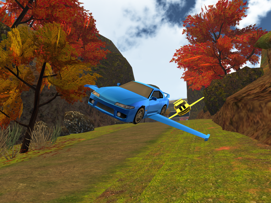 3D Flying Car VR Racing Simulator 2017 screenshot 9
