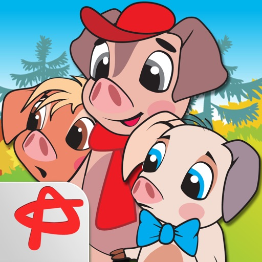 Three Little Pigs: Free Interactive Touch Book