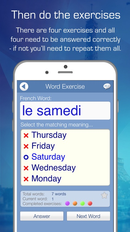 Learn French Audio FlashCards screenshot-3