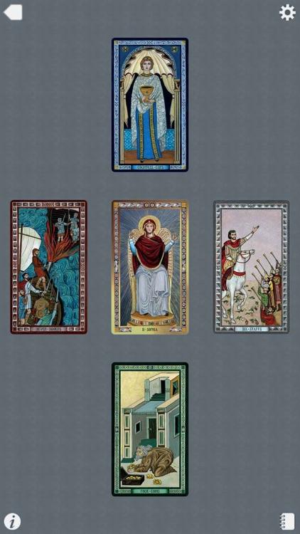 The Byzantine Tarot screenshot-4