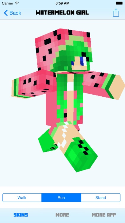 Pro Girl Skins for Minecraft PE (Pocket Edition) screenshot-3