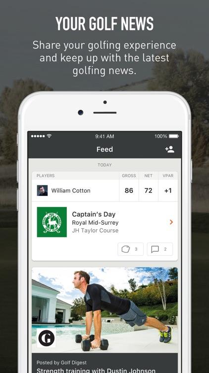 VPAR - Golf GPS, Scorecards & Stats screenshot-4