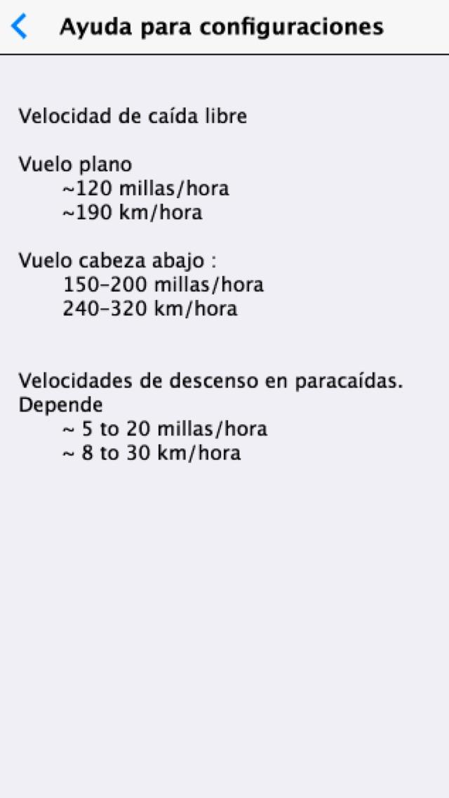 Screenshot for Altímetro para Paracaidismo in Chile App Store