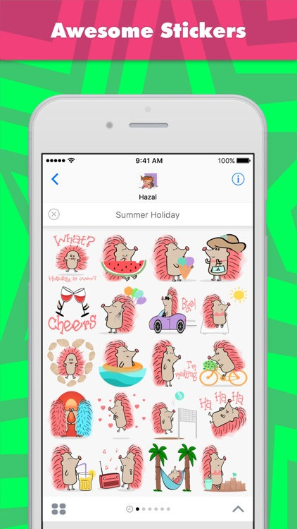Summer Holiday stickers by Hazal
