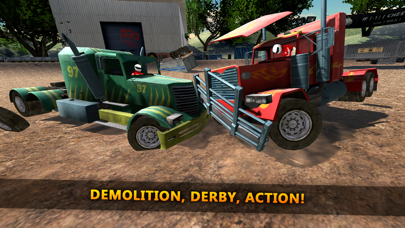 18 Wheeler Truck Crash Derbyのおすすめ画像1
