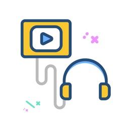 تحويل فيديو لصوت - تشغيل موسيقى في الخلفيه