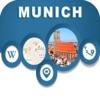 Munich Germany City Offline Map Navigation EGATE