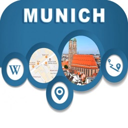 Munich Germany City Offline Map Navigation EGATE