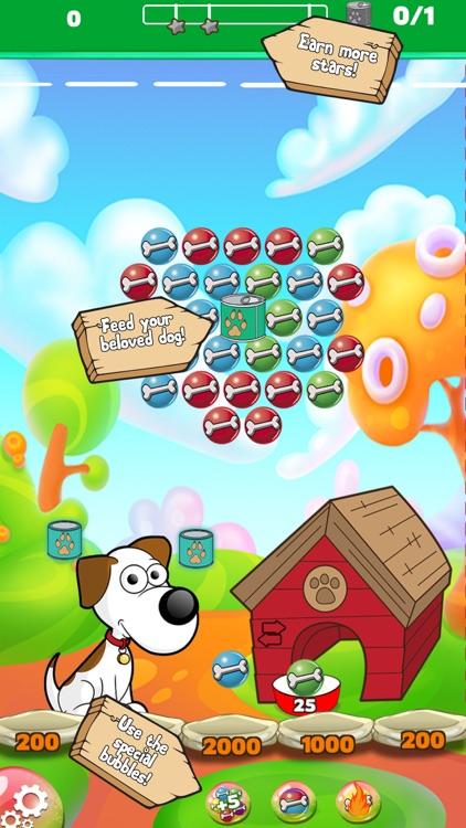 Dog bone Bubble Shooter screenshot-3