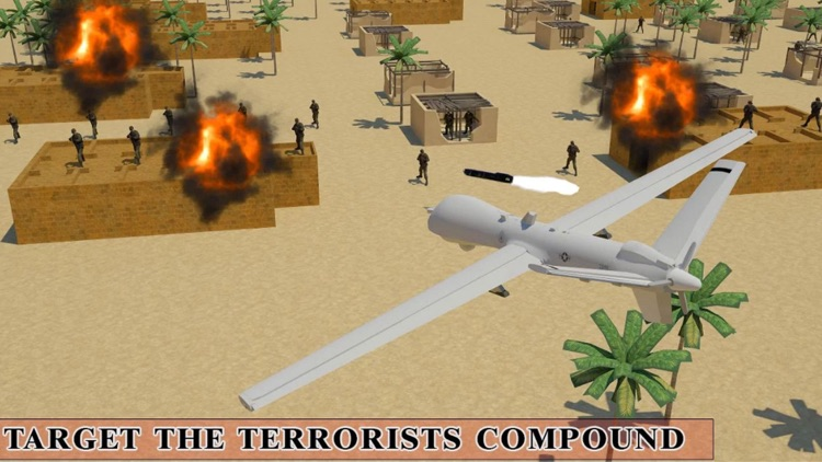 Real Drone Fighter Simulator : Air dash Attack by Muhammad Zubair