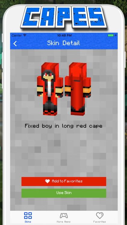 Cape Skins for Minecraft PE - Pocket Edition screenshot-4