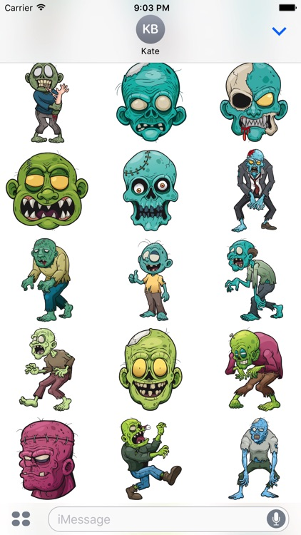 Zombistickers screenshot-2