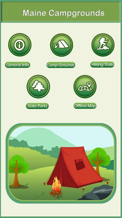 Maine Camping & Hiking Trails